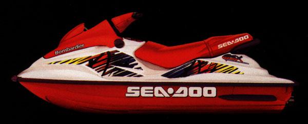 1997 Sea Doo Gsx Watercraft
